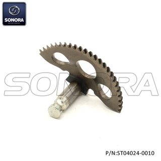 Kickstart Shaft Gear Piaggio Zip (P / N: ST04024-0010) Calidad superior