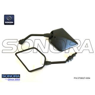 BAOTIAN BT49QT-9F3 (3C) R. / L. Mirror Comp Back (P / N: ST06027-0004) Calidad superior
